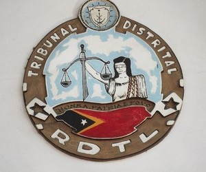 Dili Court hears case of husband accused of hitting wife.